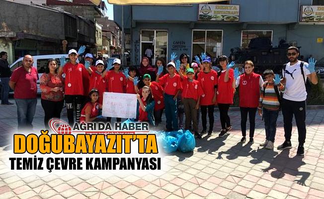 Doğubayazıt'ta Gönüllü Gençlerden Temiz Çevre Kampanyası!
