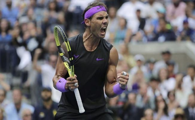 Rafael Nadal ABD Açıkta Şampiyon Oldu!