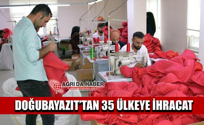 Doğubayazıt'ta Kurulan Tekstil Firması Şubesi 35 Ülkeye İhracat Hedefliyor