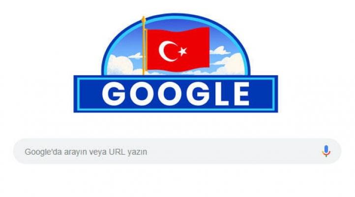 Google'den Anlamlı 29 Ekim Görseli