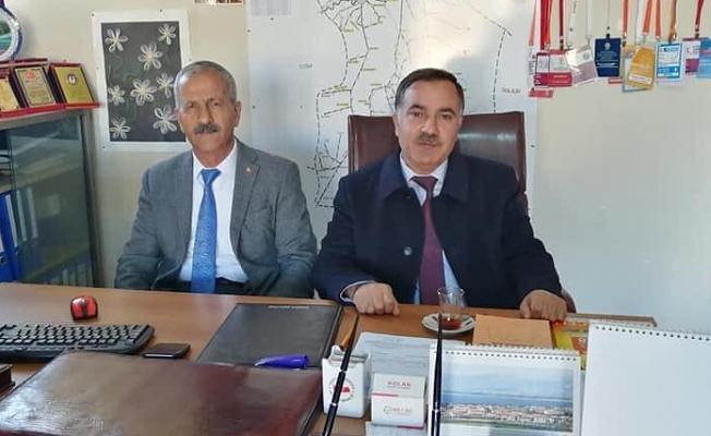 Abbas Aydın İlçelerdeki AK Parti Kurucularını Ziyaret Etti