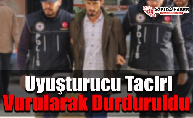 Ağrı'da Uyuşturucu Taciri vurularak durduruldu!