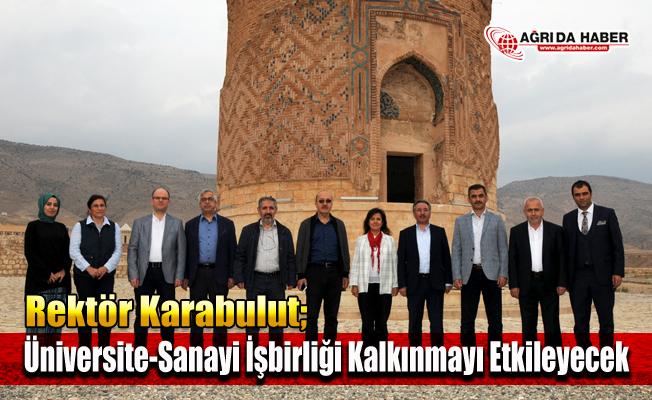 AİÇÜ Rektörü Prof. Dr. Karabulut: Üniversite-Sanayi İşbirliği Kalkınmayı Etkileyecek