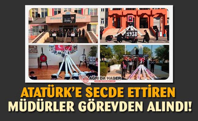 Atatürk'e Secde ettiren O Müdürler Görevden Alındı