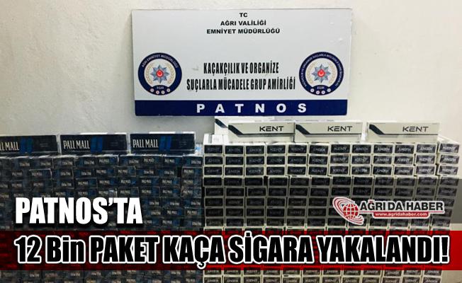 Ağrı Patnos'ta 12 Bin 820 Paket Kaçak Sigara Yakalandı