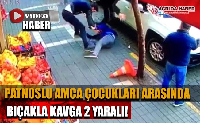 Patnostan Trabzon'a giden Akrabalar Arasında Bıçaklı Kavga! 2 Yaralı