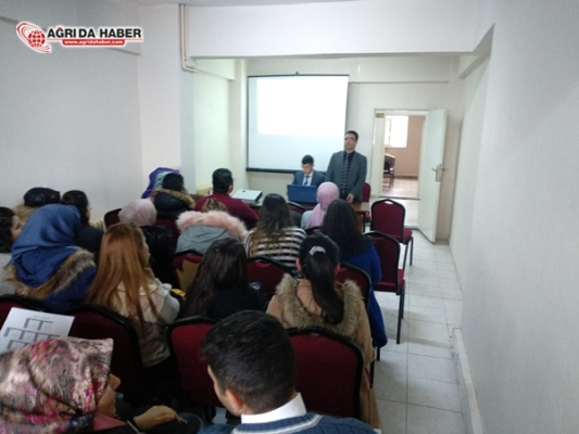 Hamur'da Lise öğretmenleriyle TYT ve AYT Değerlendirme Toplantısı
