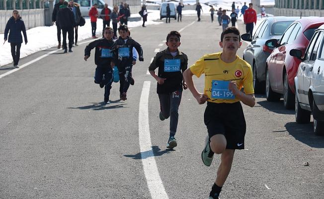 Ağrı'da Atletizm Geliştirme Projesi Yapıldı