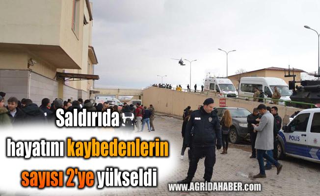 Saldırıda hayatını kaybedenlerin sayısı 2'ye yükseldi