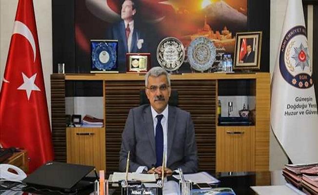 Ağrı İl Emniyet Müdürü Nihat Özen'in Bayram Mesajı