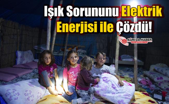 Işık Sorununu Elektrik Enerjisi ile Çözdü!
