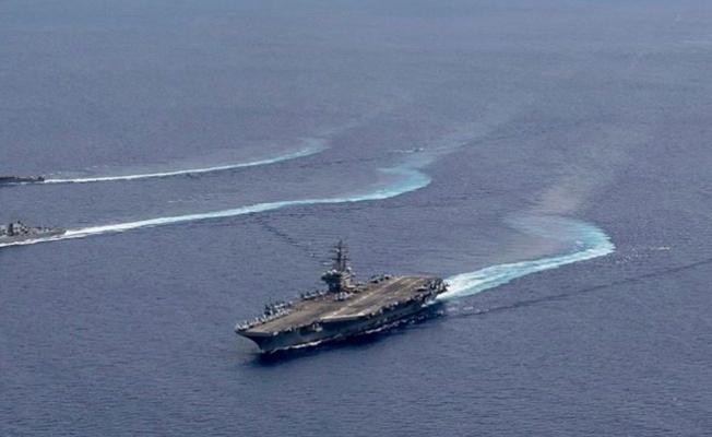 ABD Çin gemilerinin mesafesinde tatbikat yaptı