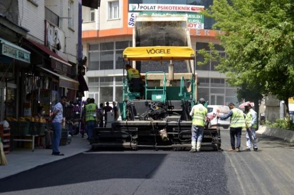 Ağrı'da asfalt çalışmaları yıl sonunda tamamlanacak
