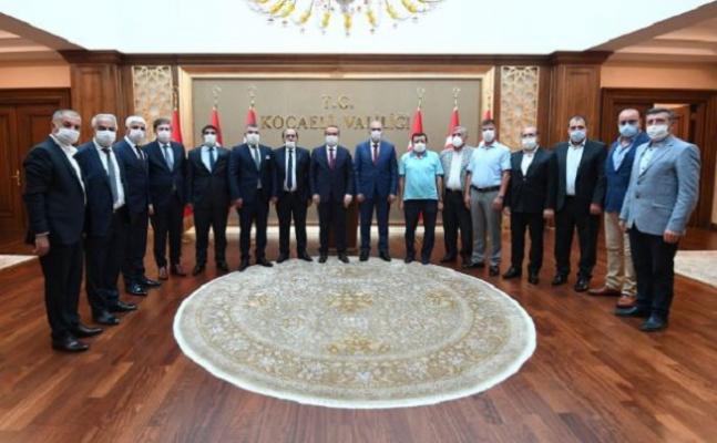 Ağrı Konfederasyonu'ndan, Kocaeli Valisi Seddar Yavuz'a Ziyaret