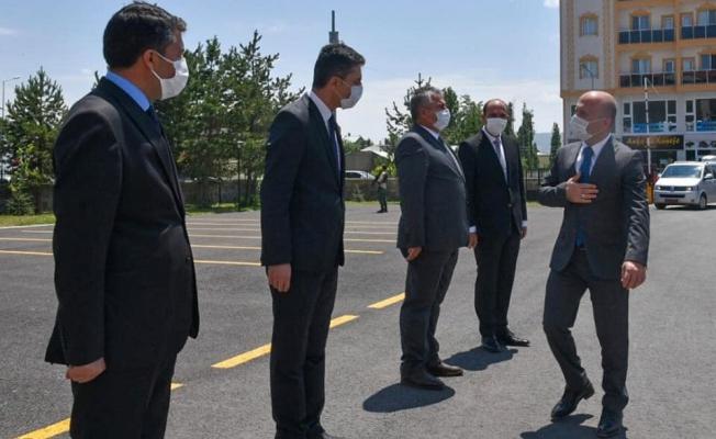 Ağrı Valisi Varol'dan Eleşkirt Kaymakamlığına Ziyaret