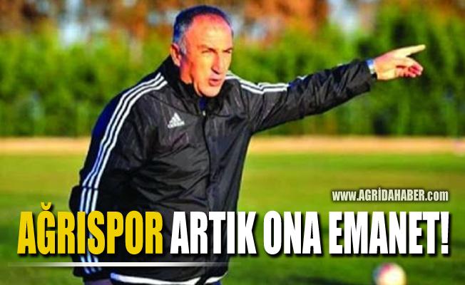 Ağrıspor Artık Cevdet Uzunküprü'ye emanet