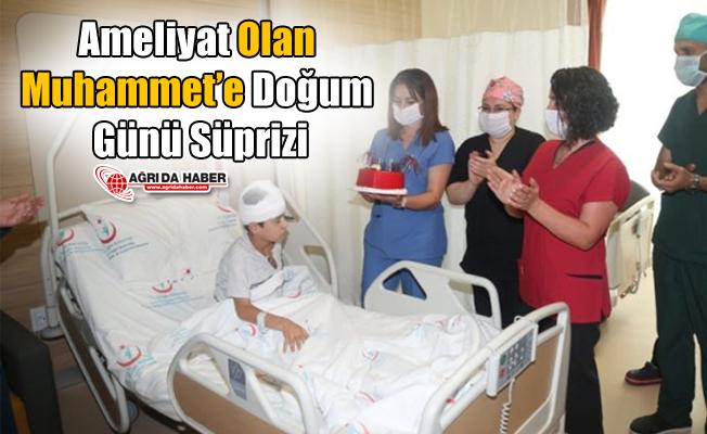 Ameliyat Olan Muhammet'e Doğum Günü Süprizi