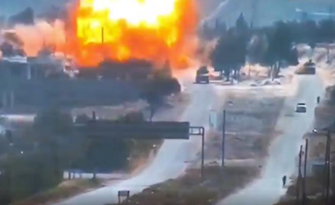 İdlib'de Türk-Rus devriyesine bombalı saldırı