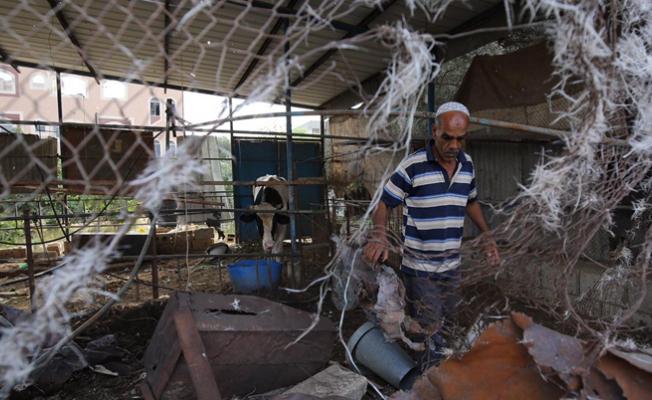 İsrail Gazze'yi yeniden vurdu!