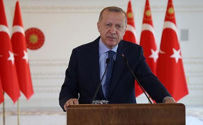MİT'in yeni binasının açılışında Erdoğan konuştu