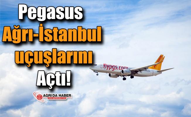 Pegasus Ağrı-İstanbul uçuşlarını Açtı!