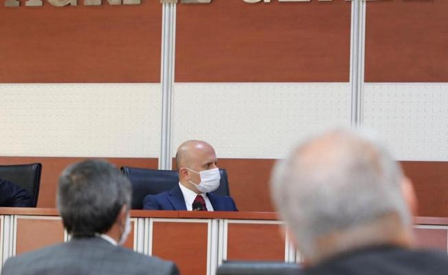 Ağrı Valisi Varol İl Genel Meclis Üyeleri İle Bir Araya Geldi