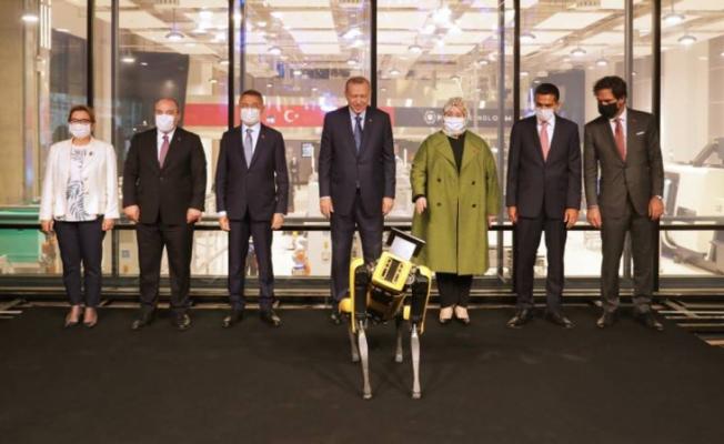 Cumhurbaşkanı Erdoğan Teknoloji merkezinin açılışını yaptı