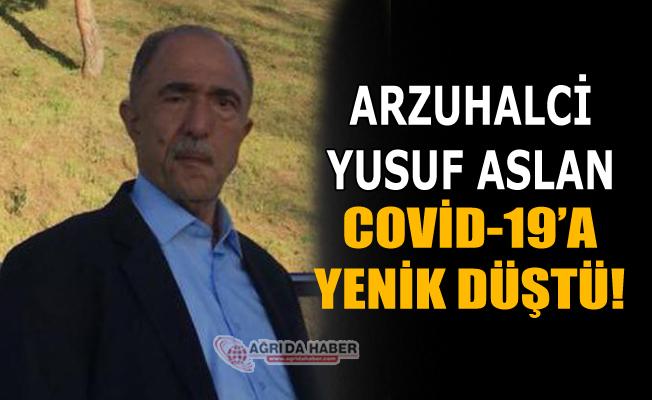 Arzuhalci Yusuf Aslan Koronavirüs'ten Vefat Etti!
