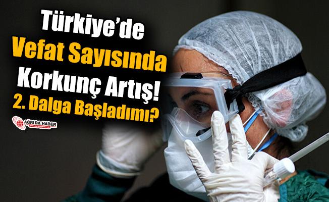 Türkiye'de Vefat Sayısında Dehşet Artış! 2'inci Dalga mı Başladı?