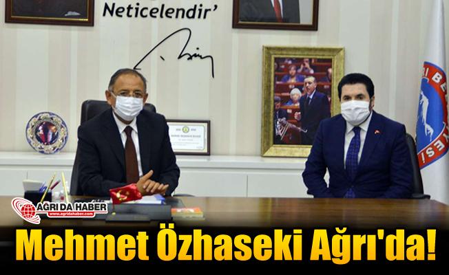 AK Parti Genel Başkan Yardımcısı Mehmet Özhaseki Ağrı'da!