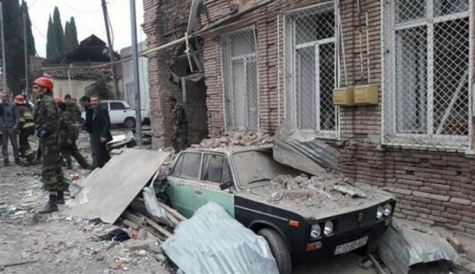 Azerbaycan'a Ermenistan'dan Füze Saldırısı!