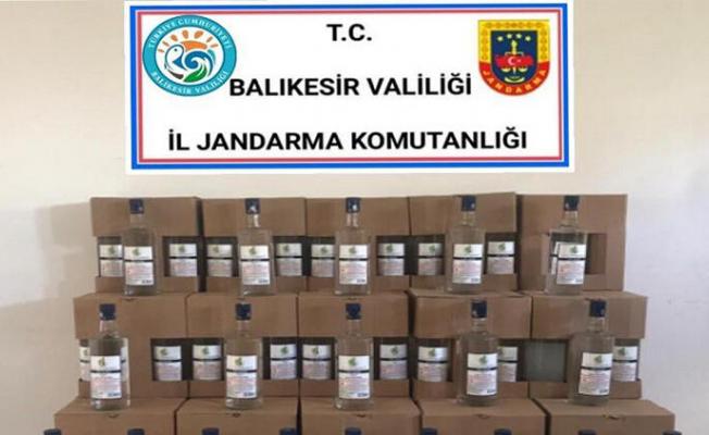 Balıkesir'de Yüzlerce Litre Sahte Alkol Bulundu!