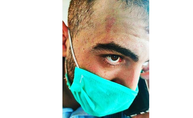 Hizmet-iş Ağrı İl Başkanı Emrah Aslan'a Saldırı