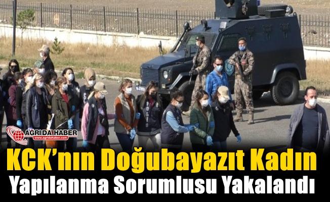 KCK'nın Doğubayazıt Kadın Yapılanma Sorumlusu Yakalandı