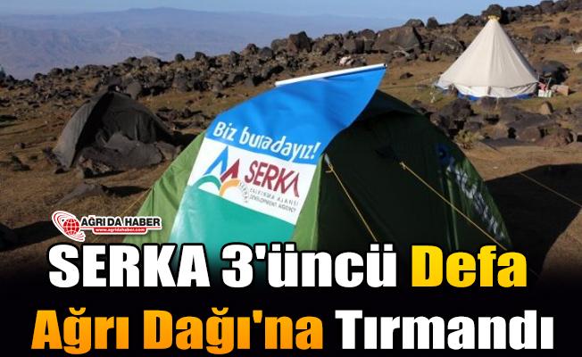 SERKA 3'üncü Defa Ağrı Dağı'nda