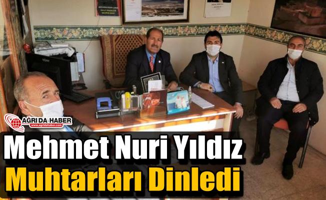 Mehmet Nuri Yıldız Muhtarları Dinledi