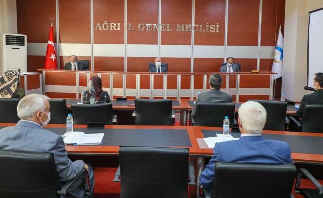 Vali Varol İl Genel Meclisi Kasım Ayı Toplantısına Katıldı