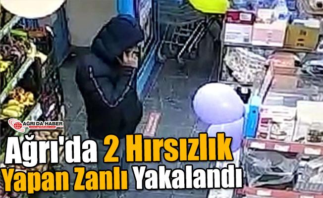 Ağrı'da 2 Hırsızlık Yapan Zanlı Yakalandı