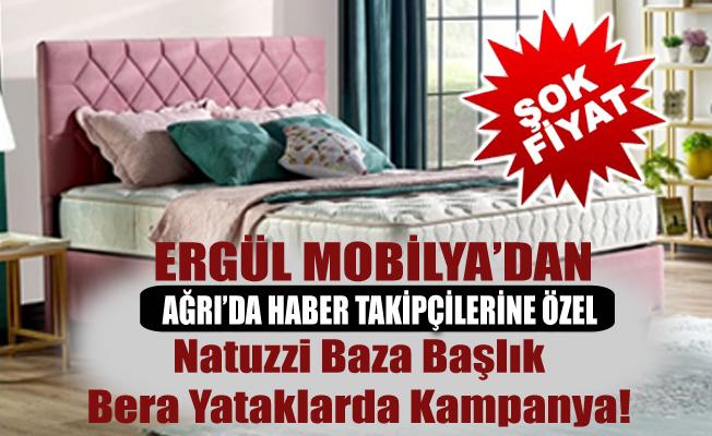 Ağrı Ergül Mobilya'dan Baza Başlıkta Kampanya