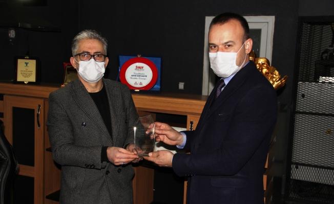 Ağrı Milli Eğitim Müdürü Mehmet Faruk Tekin'in teşekkür ziyaretleri