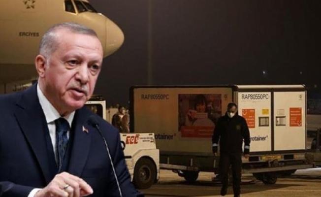 Çin aşıları Pazar Türkiye'ye geliyor