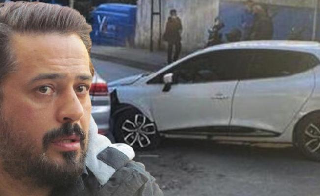 Emre Altuğ Arabası İle Trafik Kazası Yaptı