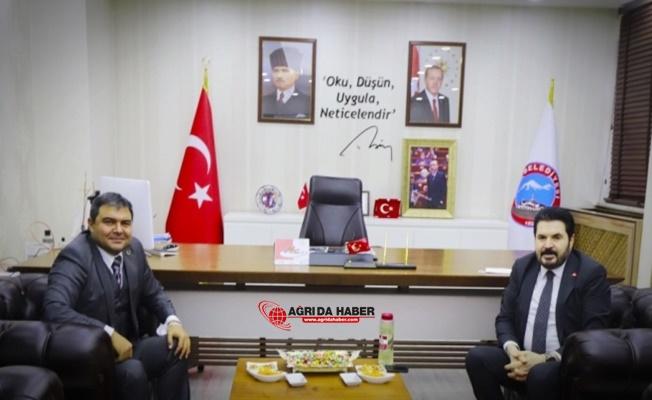 Kaymakam Alper Balcı'dan Savcı Sayan'a Ziyaret