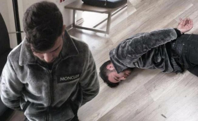 Ümitcan Uygun yaka paça gözaltına alındı