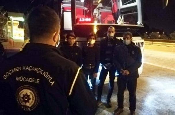 Doğubayazıt'dan Ülkeye Giriş Yapan 4 Kaçak Göçmen Osmaniye'de Yakalandı