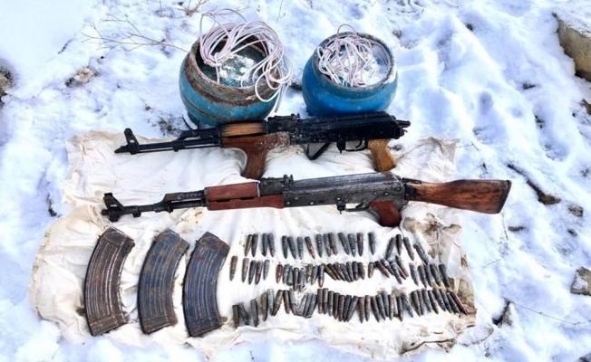 PKK'ya Yeniden Ağır Darbe! Mağara Ve Sığınaklar Patlatıldı