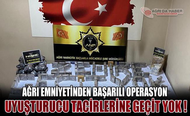Ağrı Doğubayazıt'ta 382 Kg Uyuşturucu Madde Ele Geçirildi!
