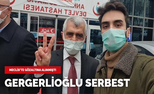 Ömer Faruk Gergerlioğlu Serbest Kaldı