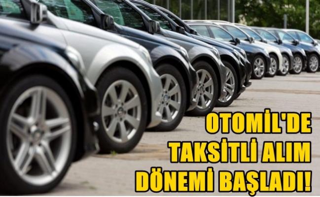Otomobil alımlarında taksitli satış dönemi başladı