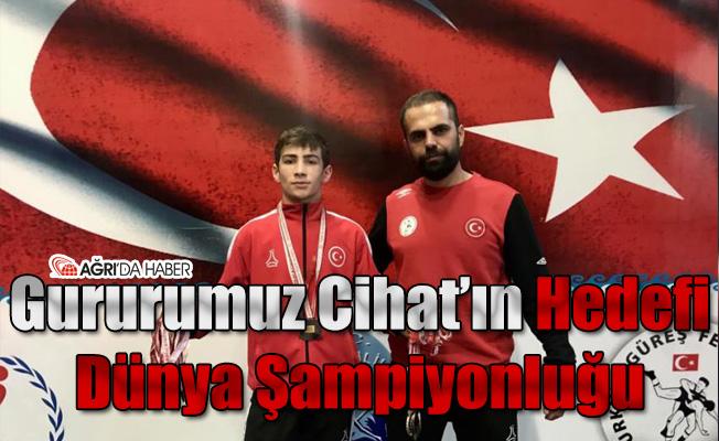 Gururumuz Cihat'ın Hedefi Dünya Şampiyonluğu